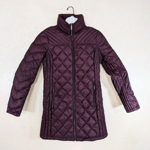 Michael Kors Jacket Small Packable Down filled Puffer Cozy Long Winter casual